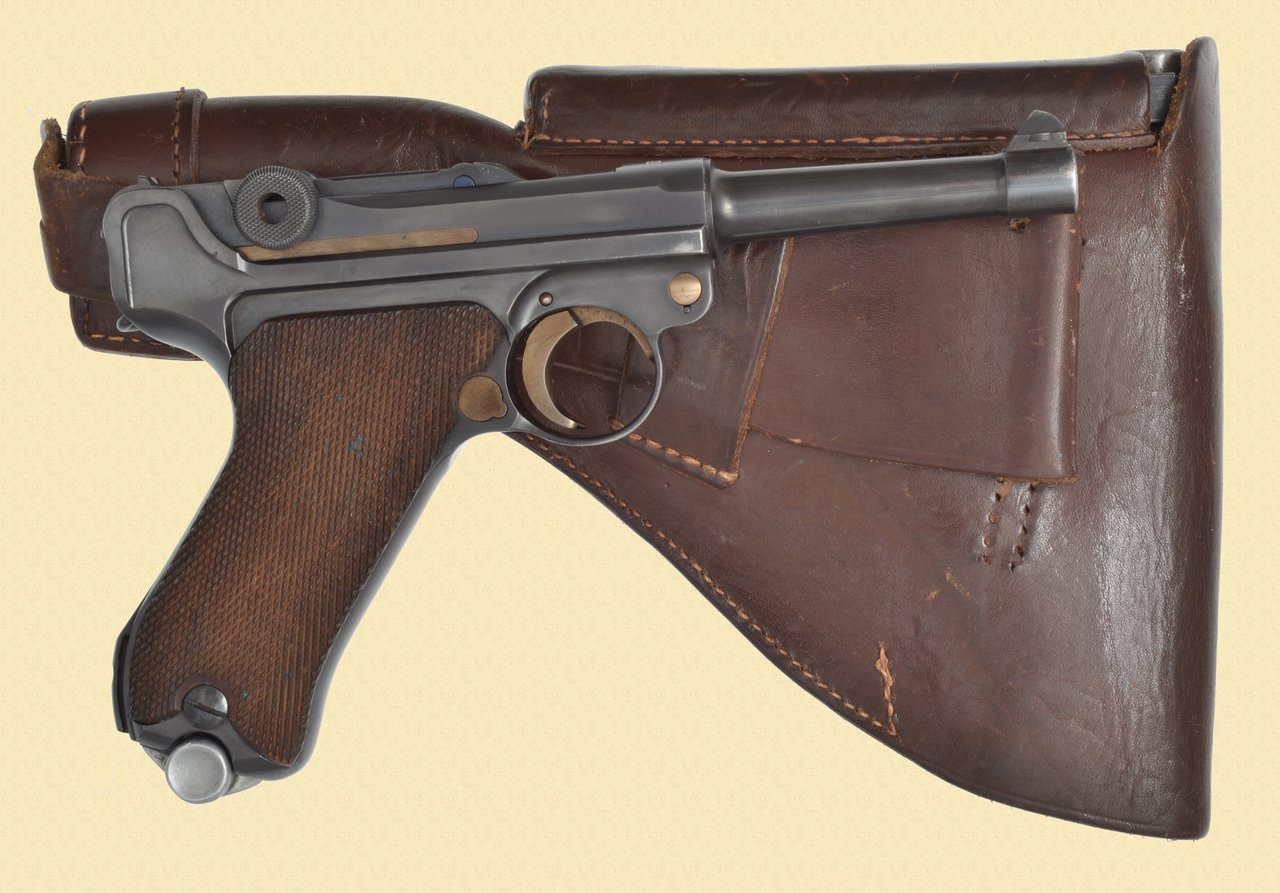 MAUSER LUGER 1940 BANNER SWEDISH CONTRACT - C40977