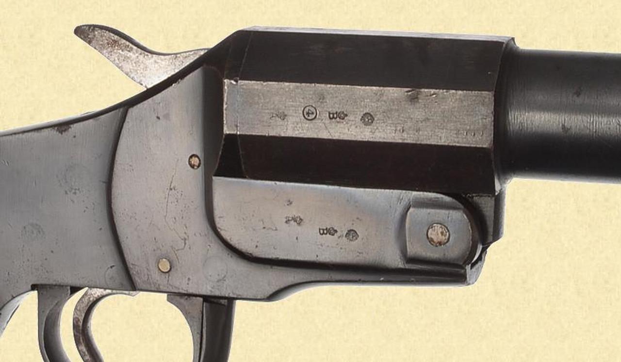 GERMAN WW1 1894 HEBEL SIGNAL PISTOL - C28813