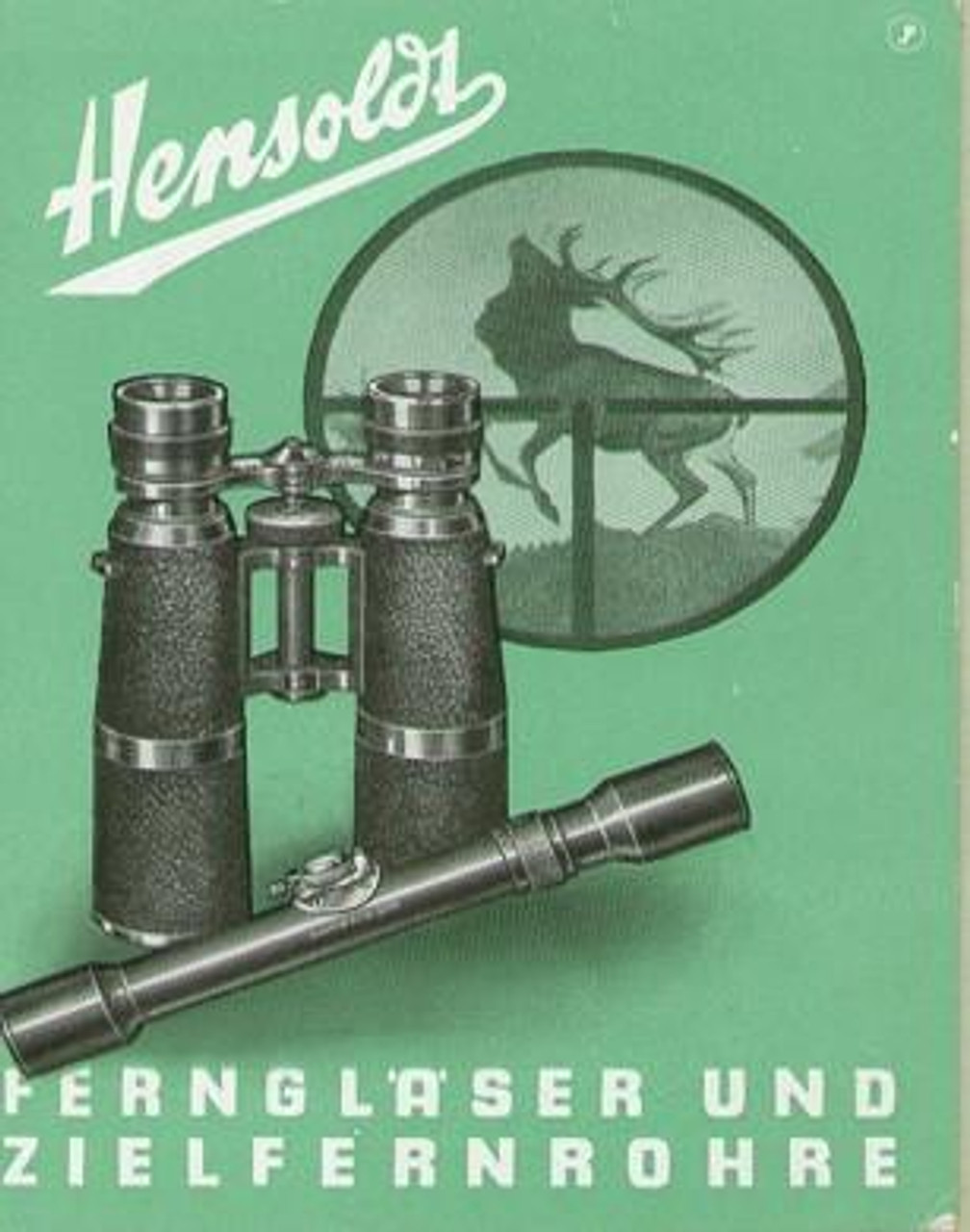 PRE WWII GERMAN OPTIC LITERATURE - M1067