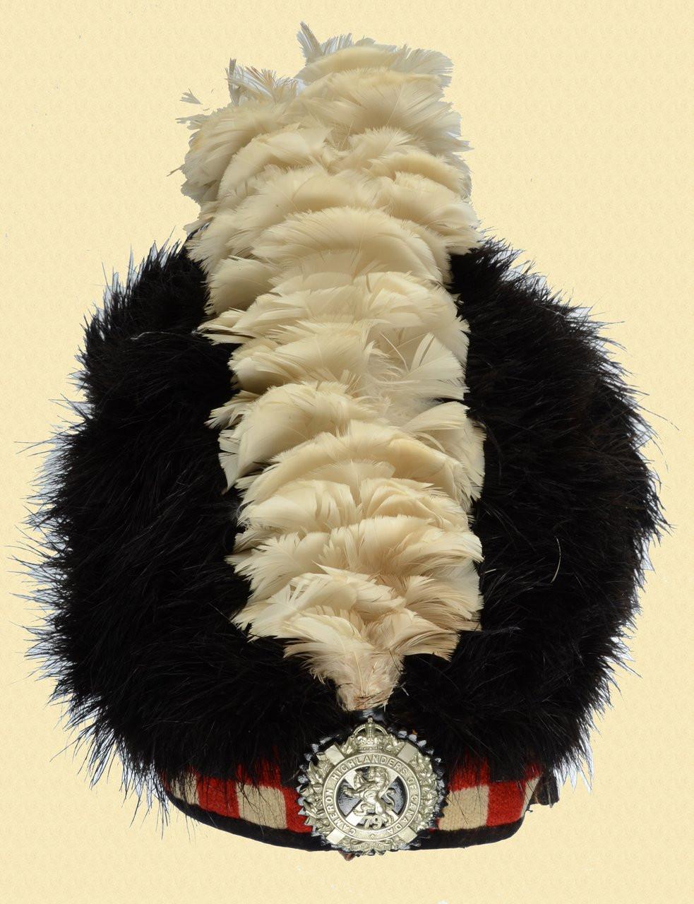 CANADIAN BEARSKIN PARADE HAT - C22827