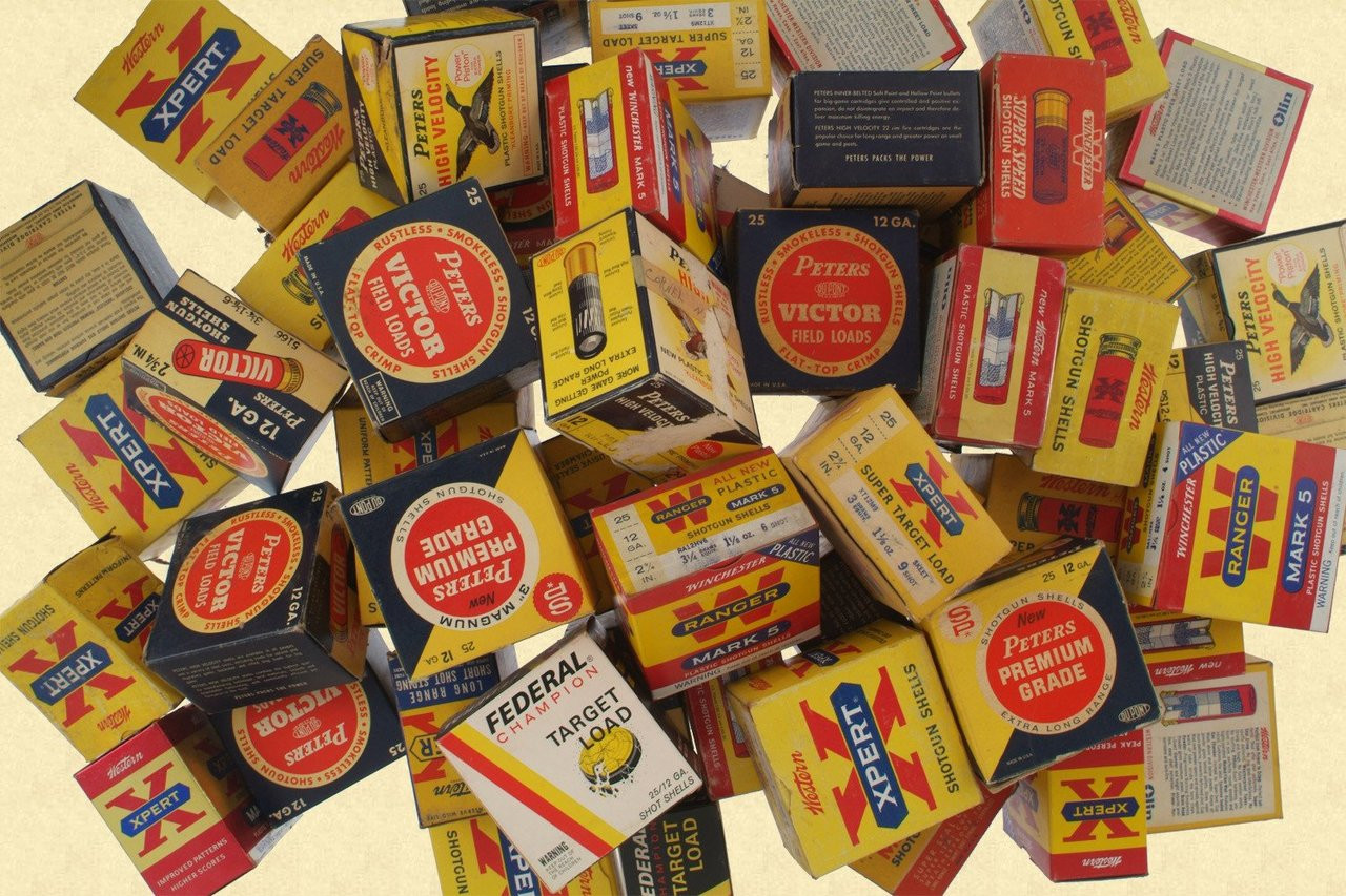 SHOT SHELL BOX LOT - C12000