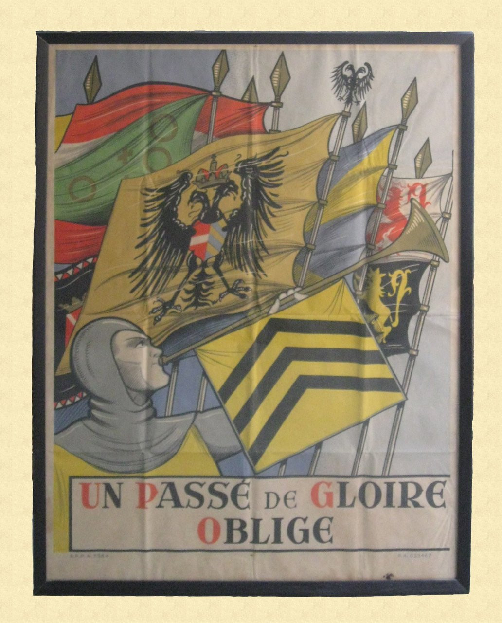 FRENCH RECRUITING POSTER - C12377