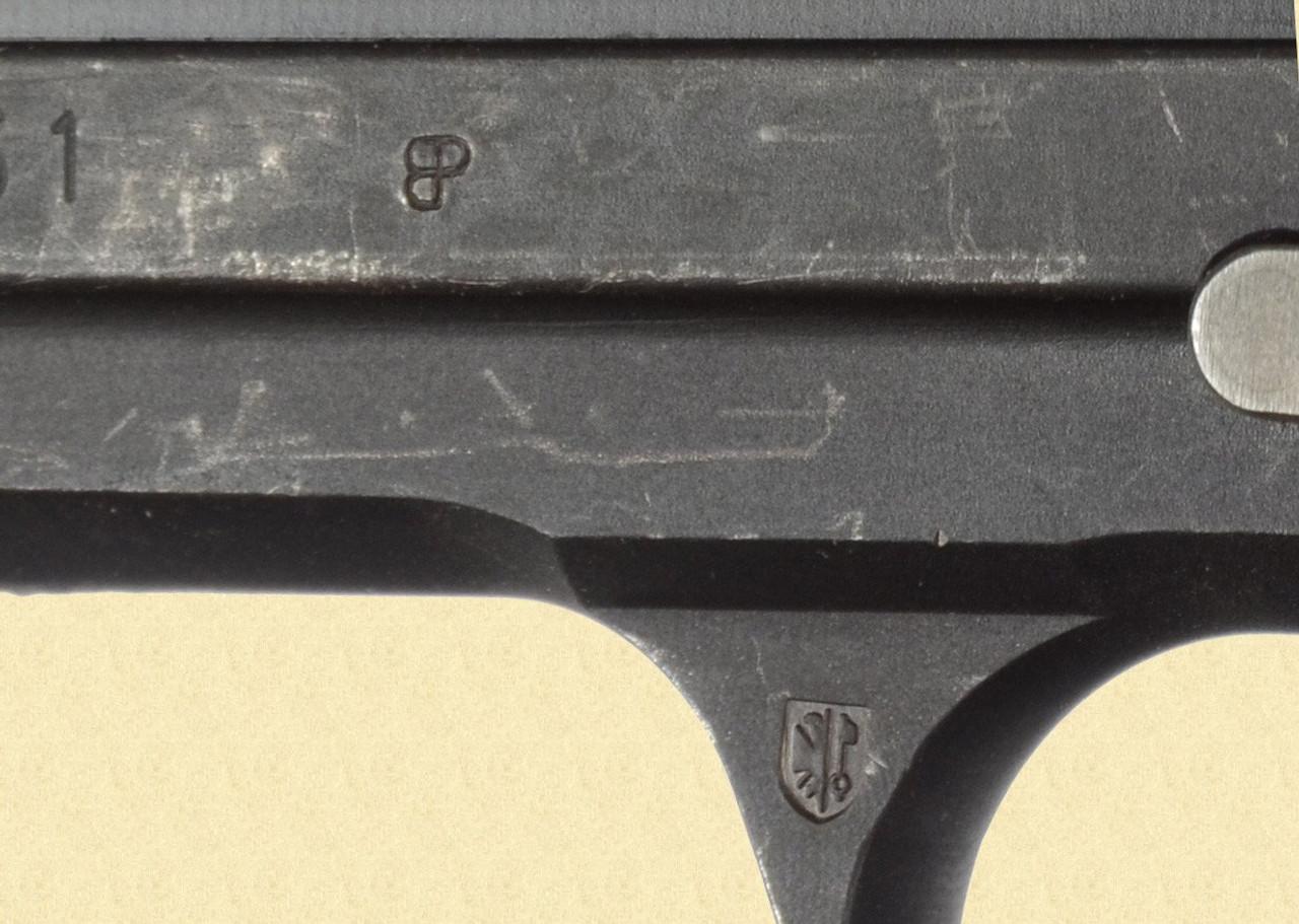 SIG P 210 GENEVA POLICE - Z28483