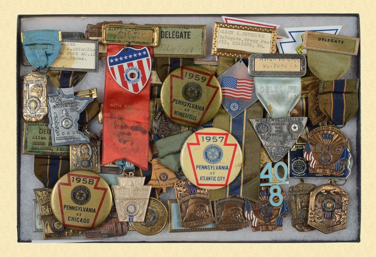 AMERICAN LEGION BADGE LOT - C18439