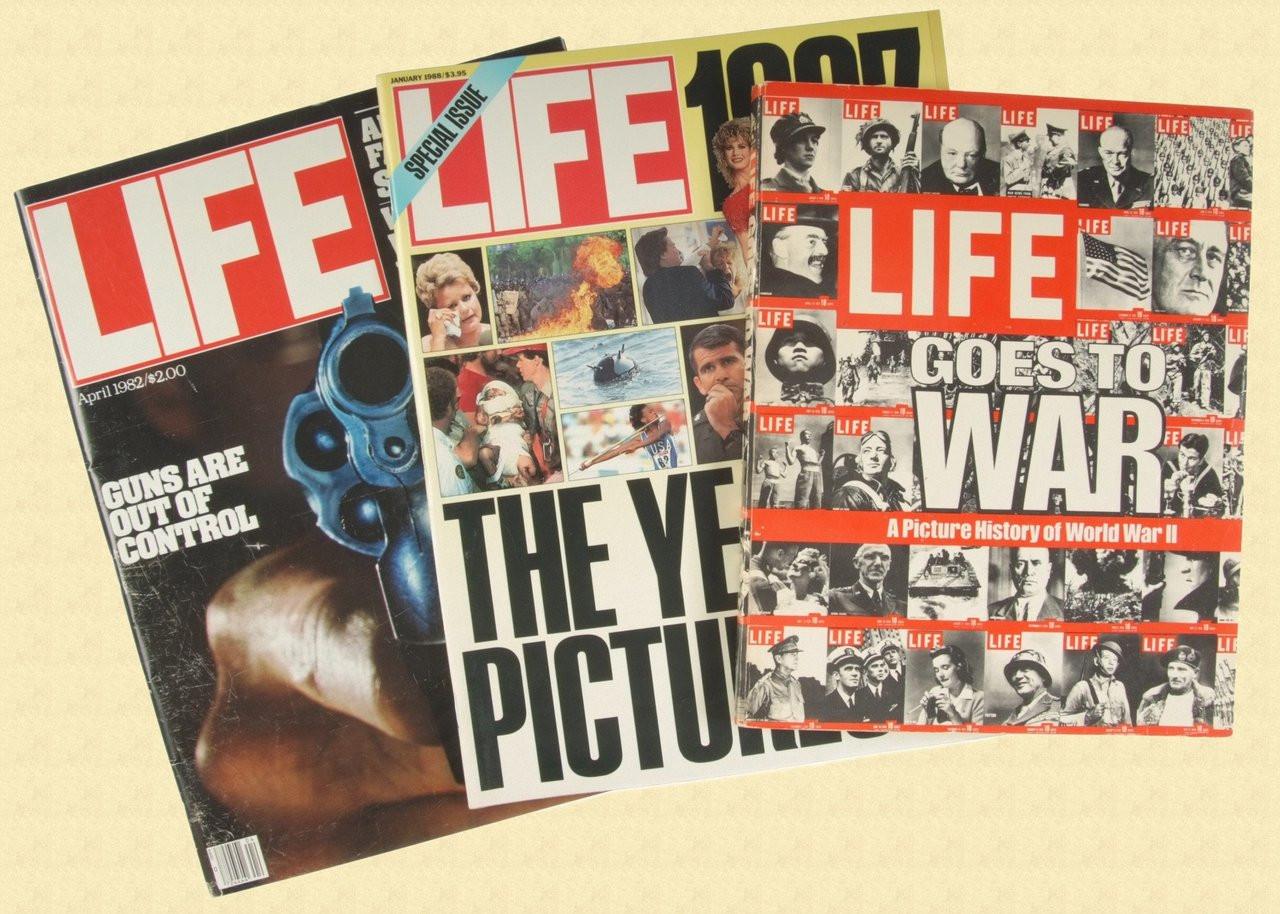LIFE MAGAZINE LOT - C11942