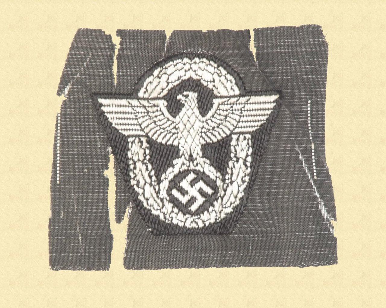 GERMAN POLICE EAGLE - C10790