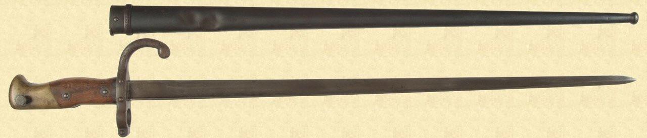 FRENCH M1874 GRAS BAYONET - M3007
