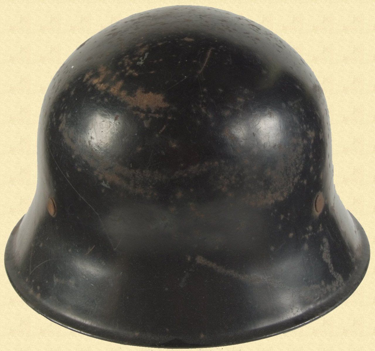 GERMAN WW2 FIRE POLICE HELMET - M2503