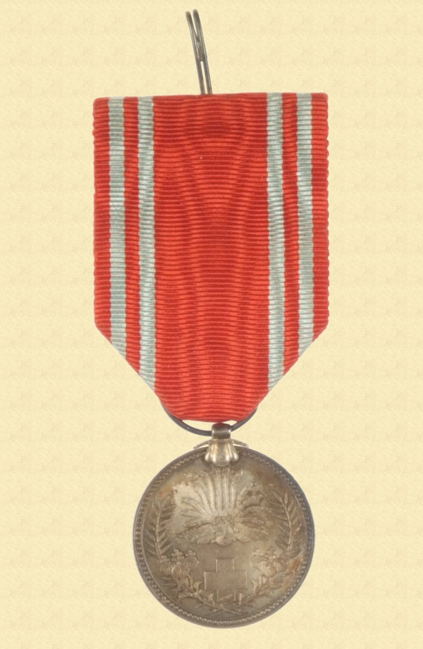 JAPANESE WW2 RED CROSS MEDAL - C12263