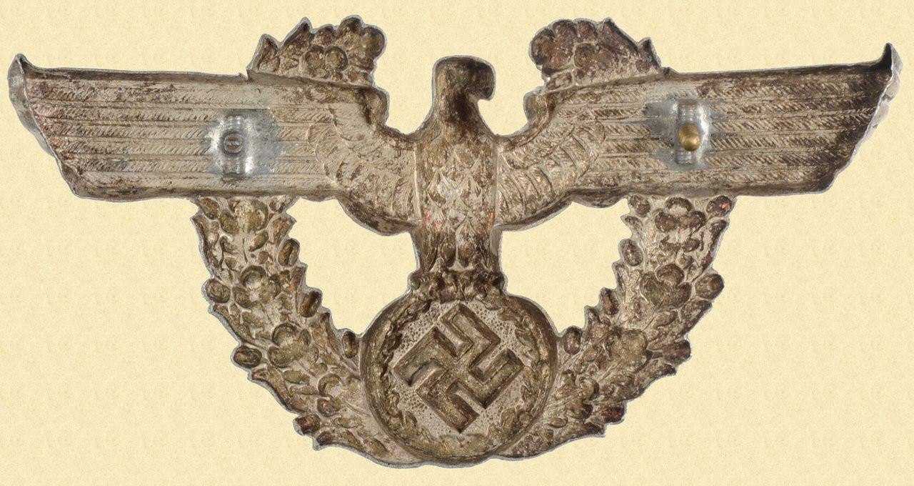GERMAN WW2 POLICE SHAKO EAGLE - C26112