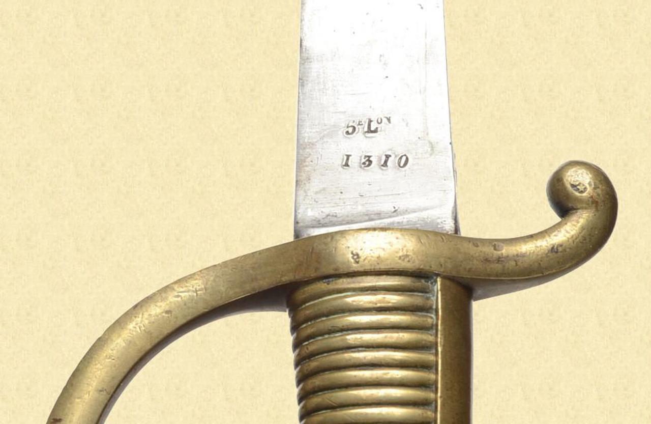 FRENCH M1804 NAVAL CUTLASS - C25279