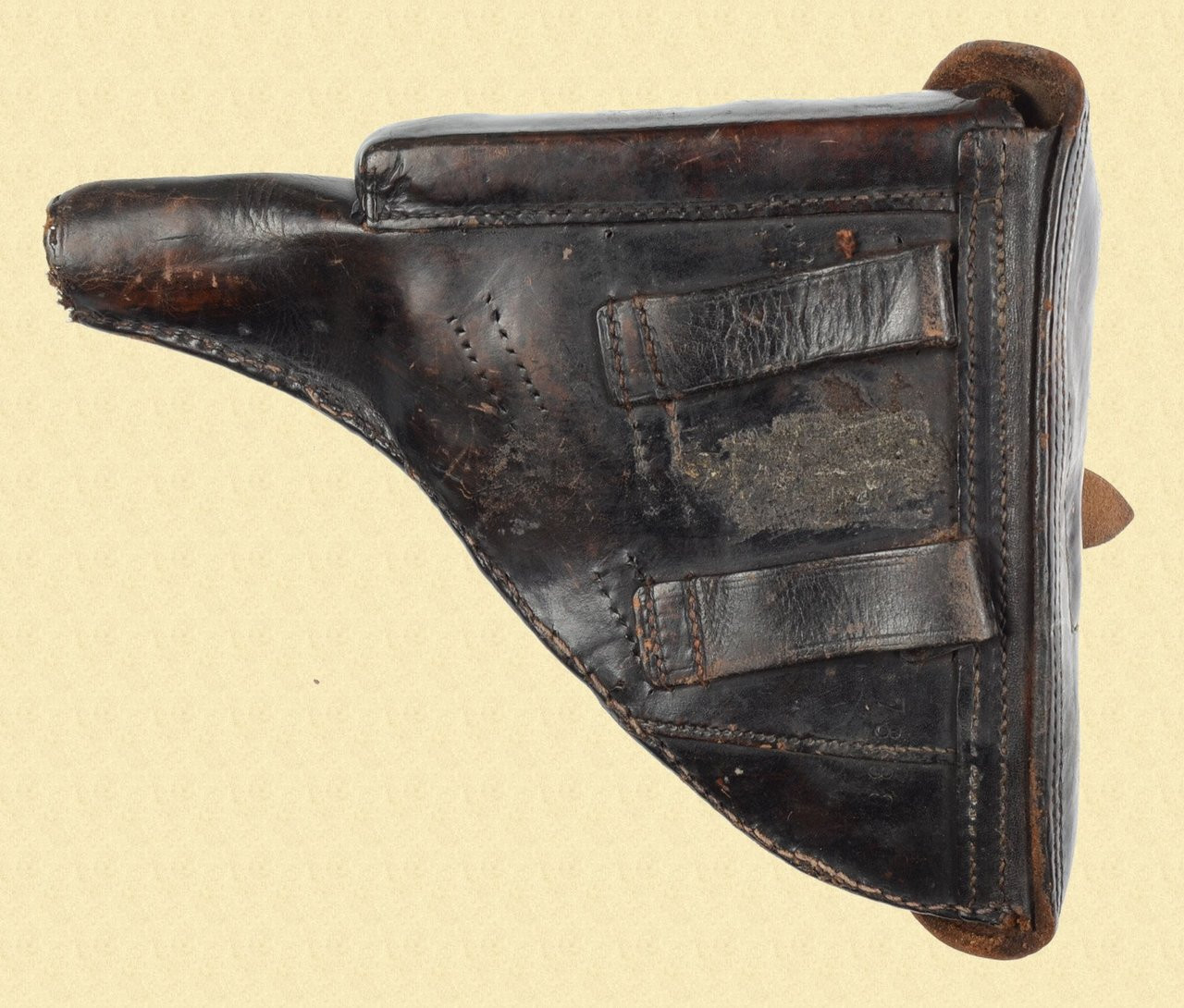 LUGER P.08 POLICE HOLSTER CONVERSION - D15524