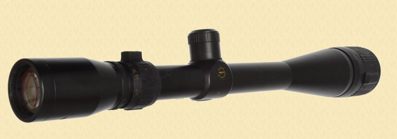 BSA 6-24X40 CONTENDER RIFLESCOPE - C30069
