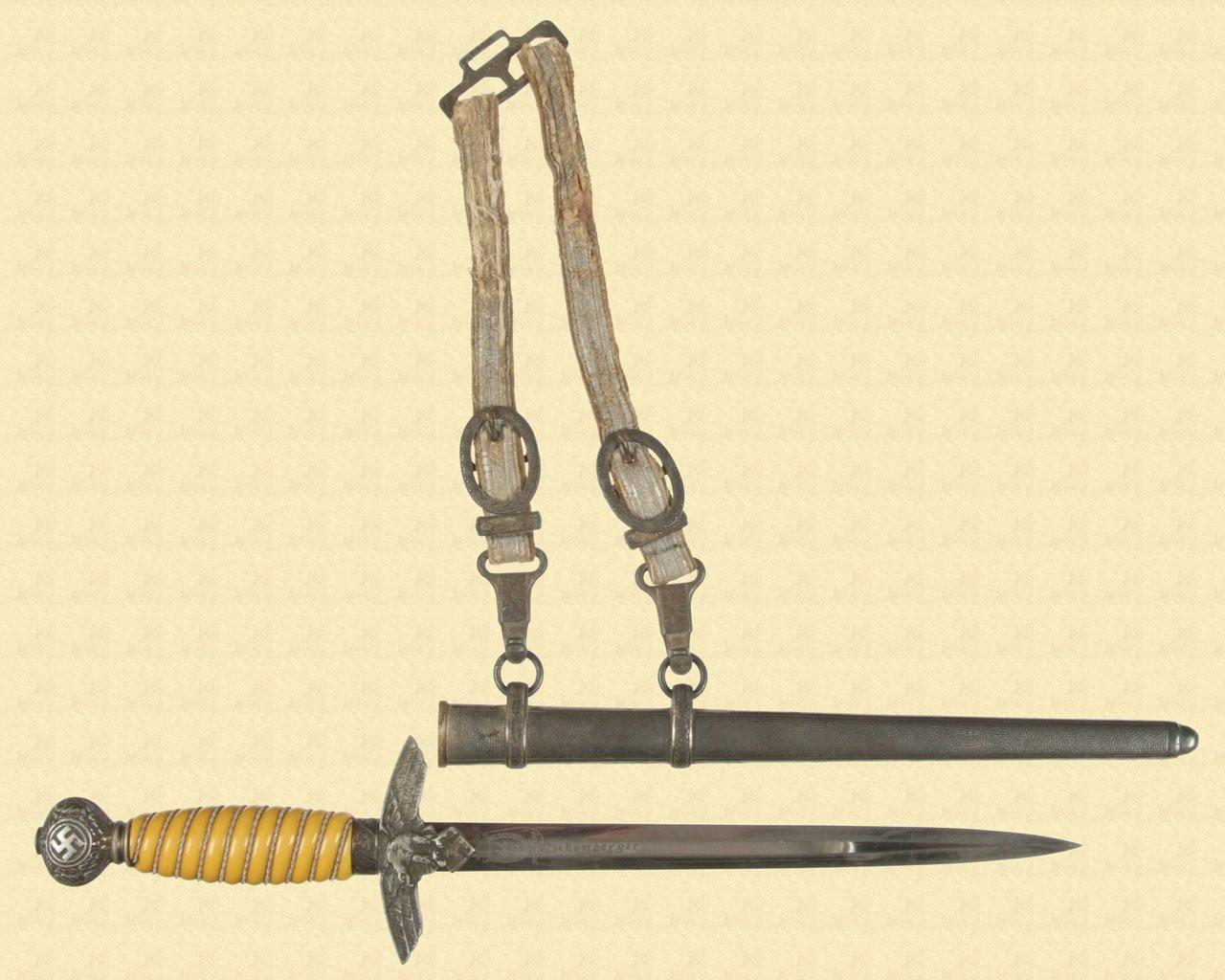 LUFTWAFFE DAGGER 2ND MODEL - M3587