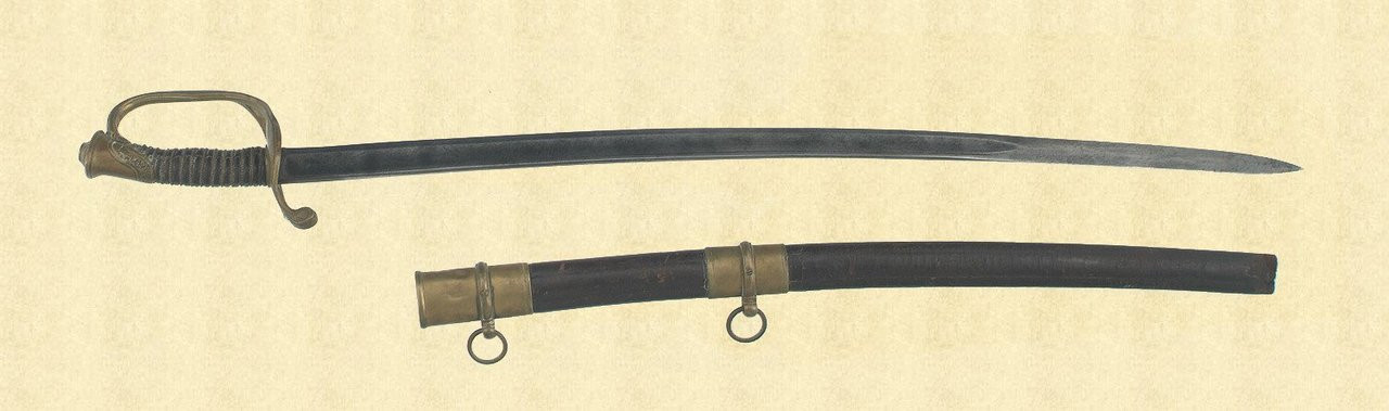 US M1850 FOOT OFFICERS SWORD - C9529