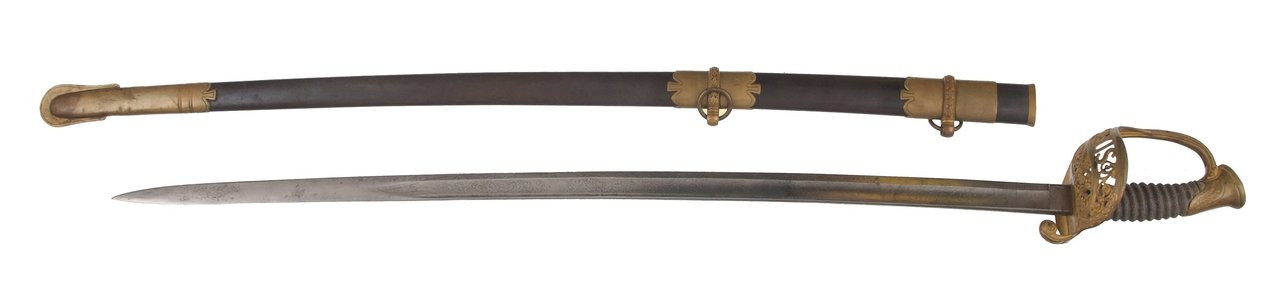 US M1850 STAFF AND FIELD OFFICERS SWORD - C15361