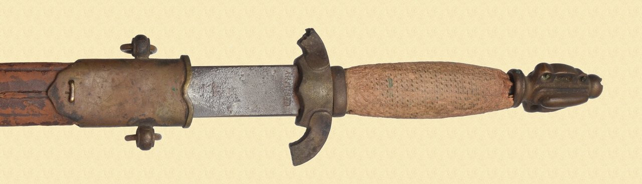 UNKNOWN WWII THEATER MADE FIGHTING KNIFE - M7302
