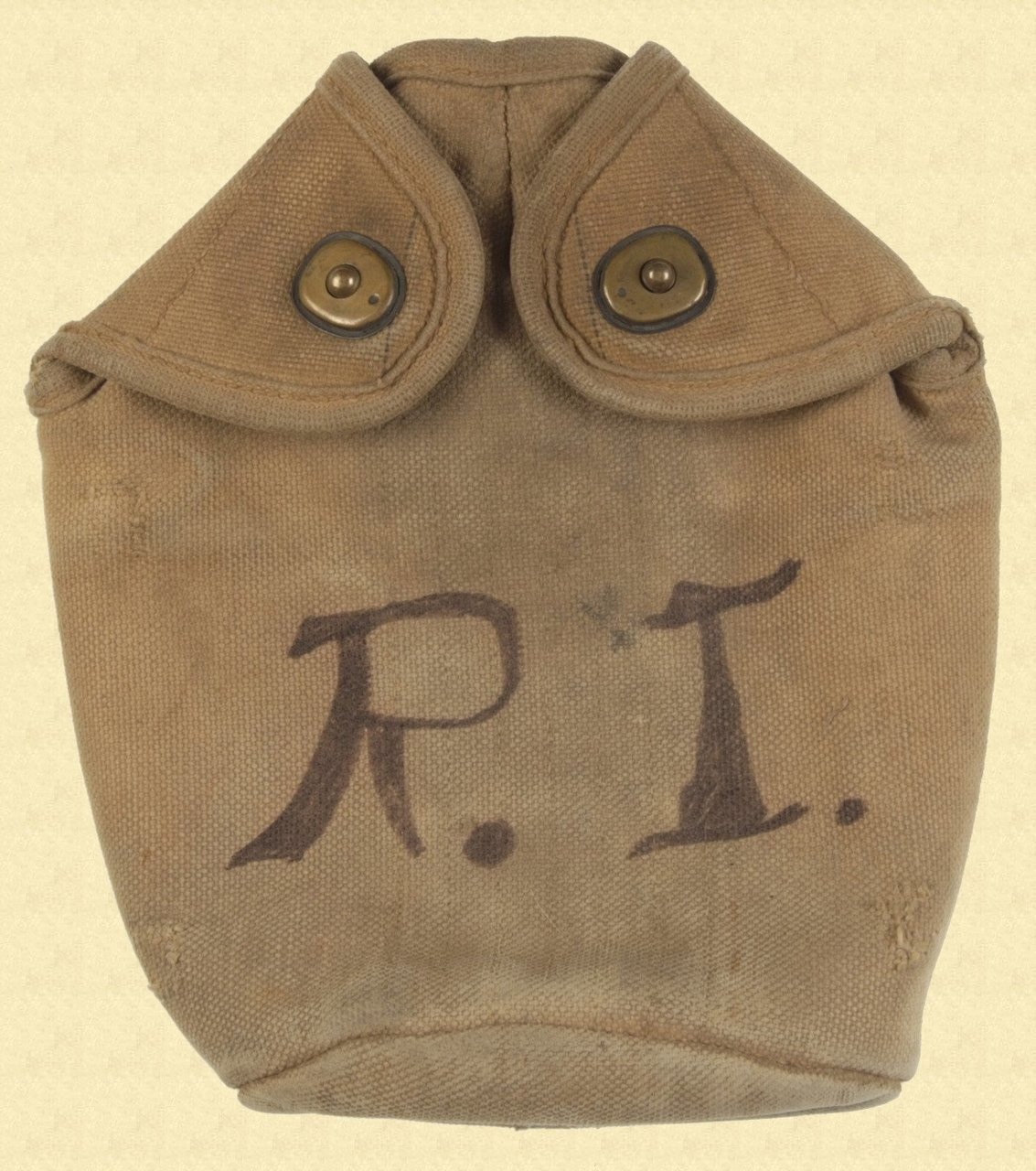 US M1910 MOUNTED CANTEEN COVER - C10163