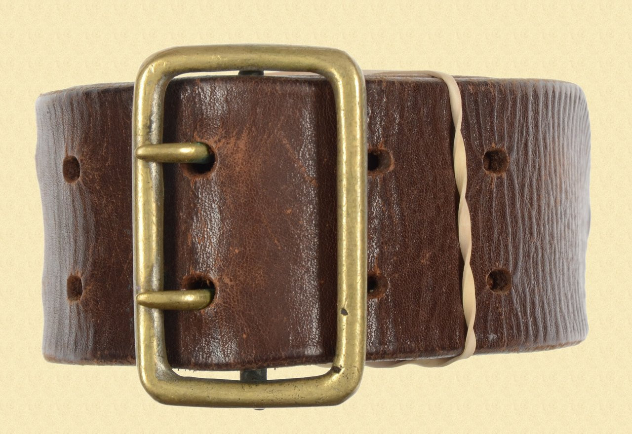 SWEDISH LEATHER BELT - C23877