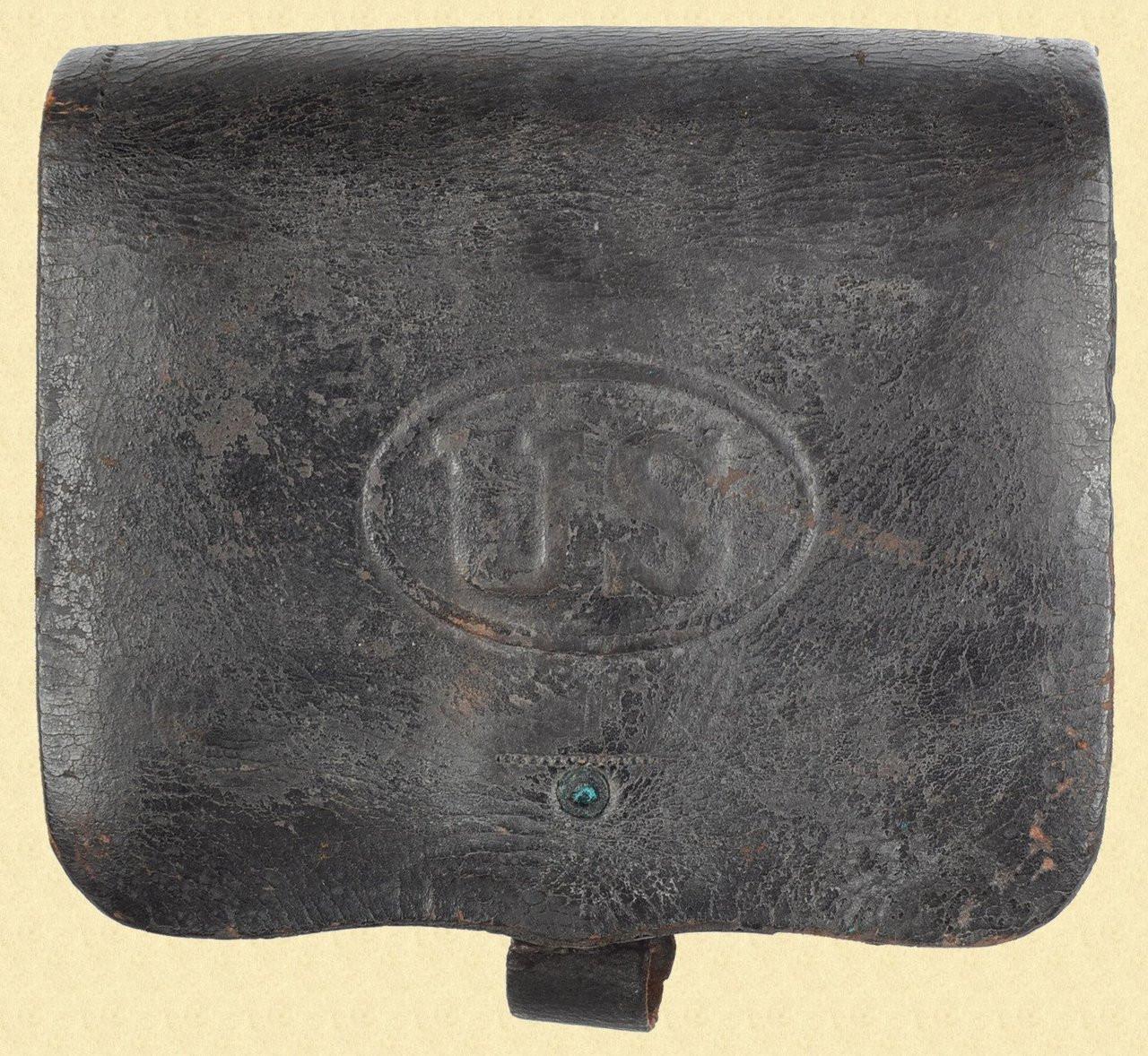U.S. M1864 CARTRIDGE BOX - C26923