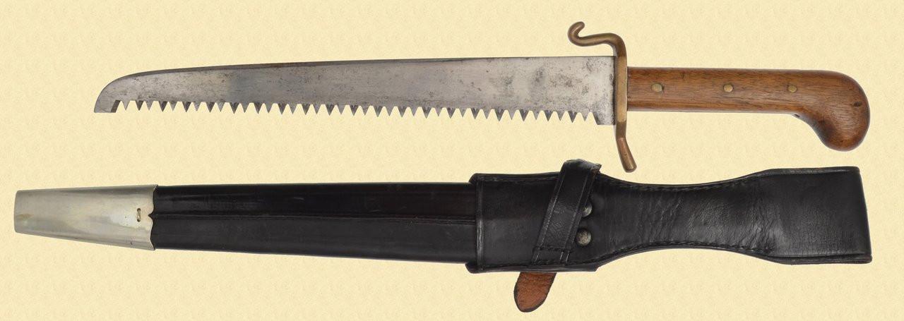 UNKNOWN SAWTOOTH KNIFE - C40561