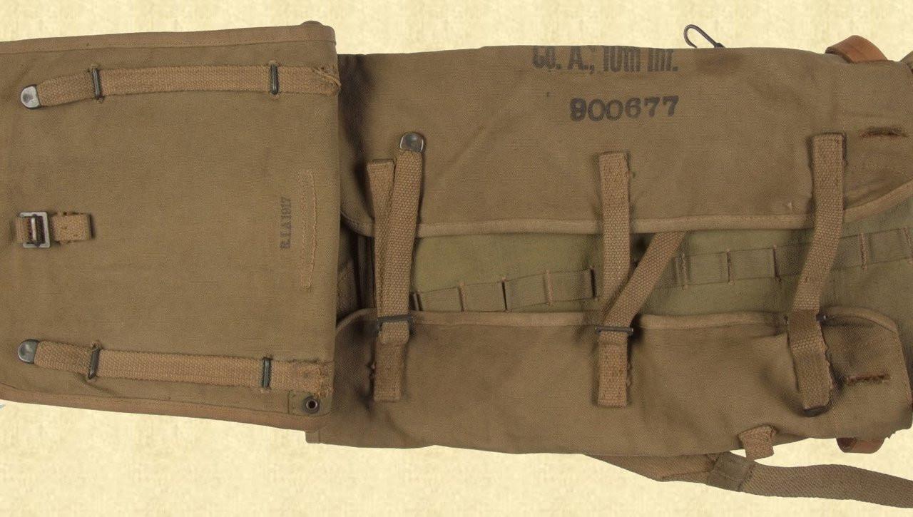 US WW1 M1910 HAVERSACK - C9926