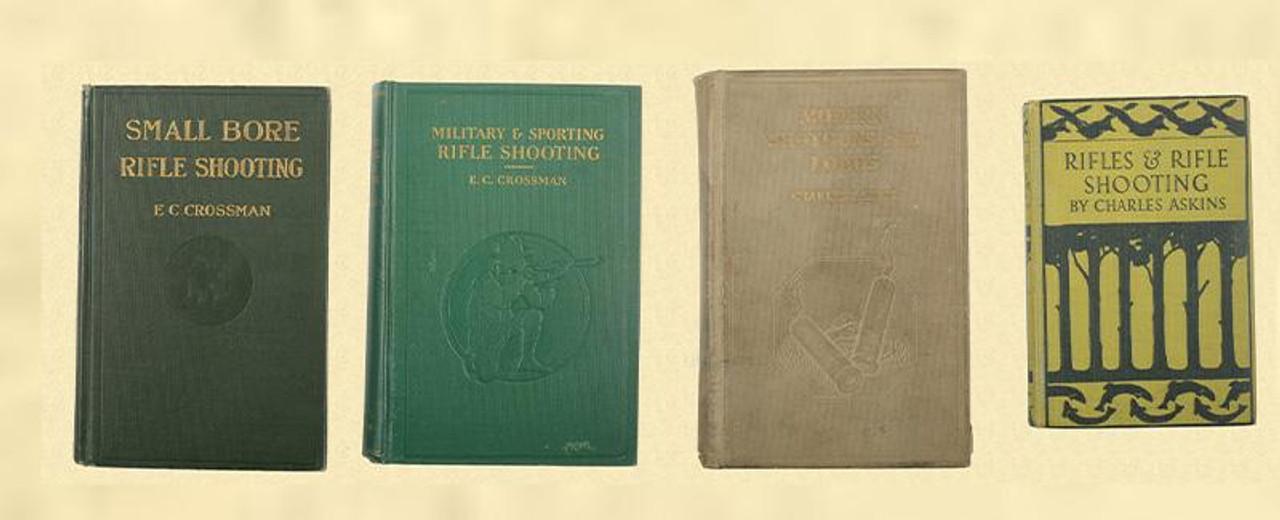 BOOK LOT OF RIFLE SHOOTING-MILITARY-SHOTGUN BOOKS - C27333