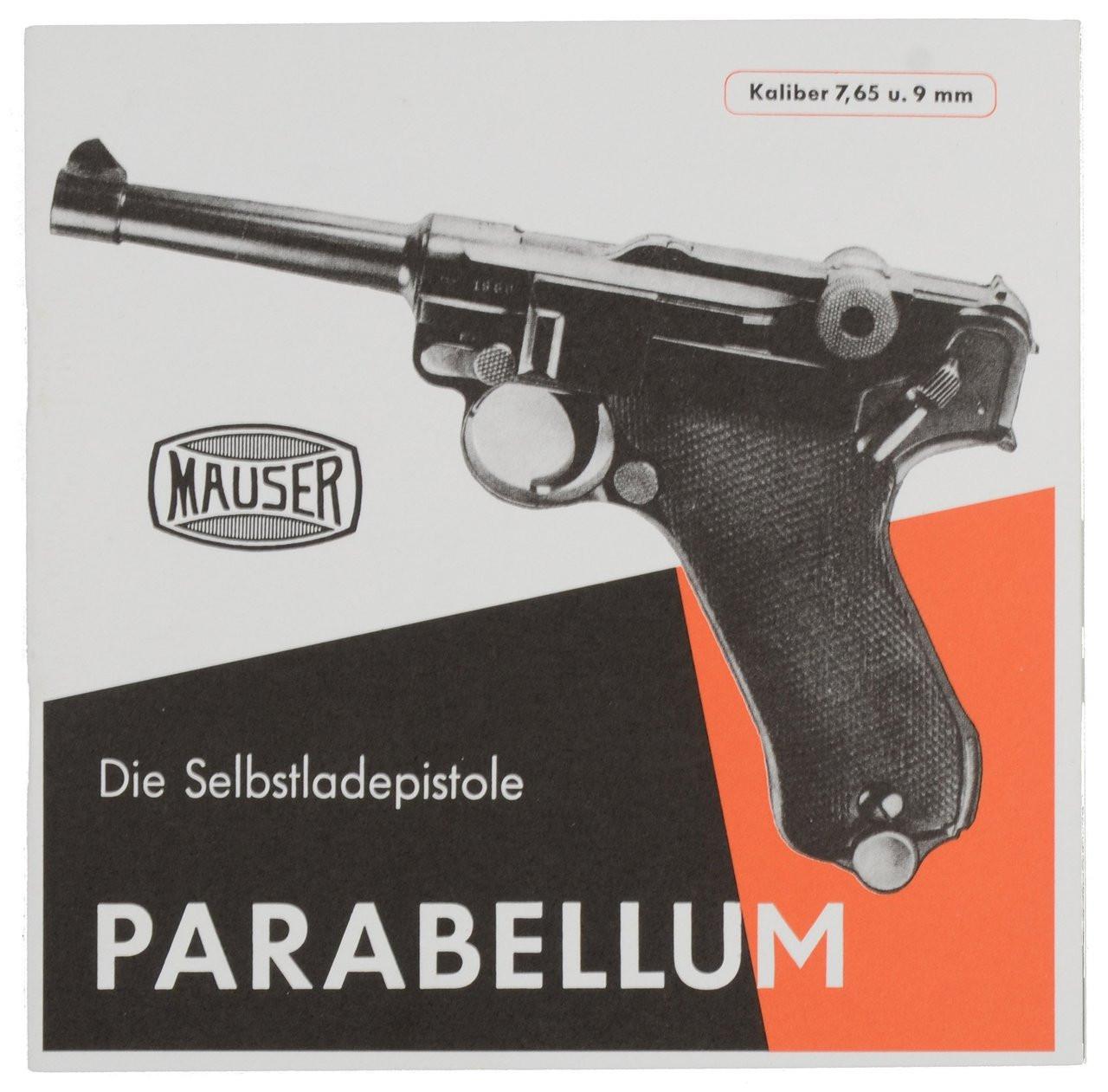 Mauser Die Selbstladepistole Parabellum