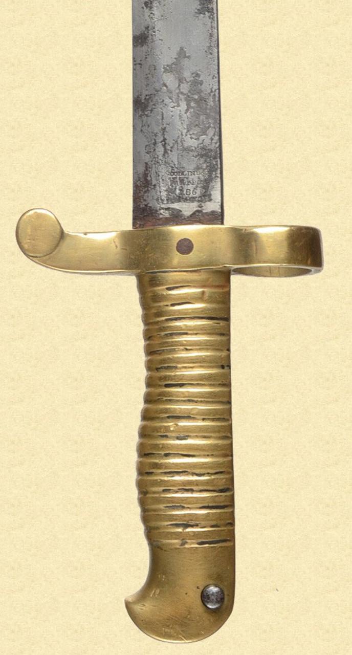 U.S. NAVY M1861 PLYMOUTH BAYONET - C24852