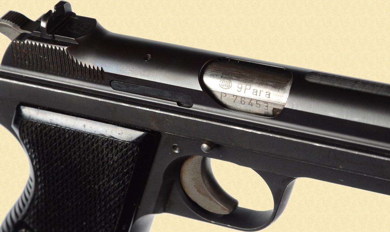 SIG P 210 GENEVA POLICE - Z28478