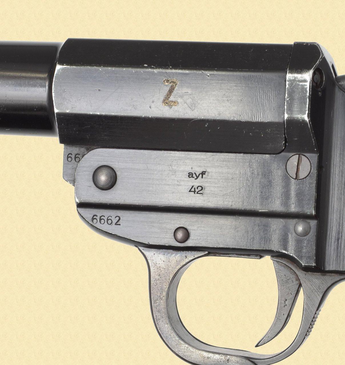 GERMANY NAZI MODEL Z FLAIR PISTOL - D15414