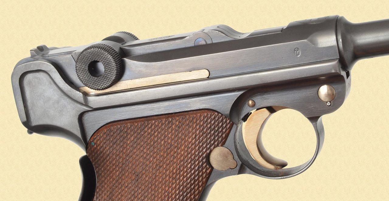 DWM LUGER 1906 SWISS ''E'' PREFIX S/N - C40974