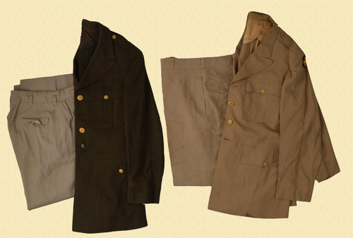 U.S. WW2 OFFICERS DRESS UNIFORM - C28948