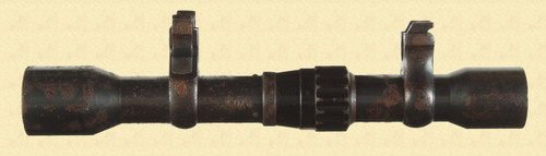 GERMAN WWII SNIPER RIFLE SCOPE - M1189