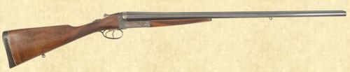 COGSWELL & HARRISON DOUBLE BARREL SHOTGUN - Z39802