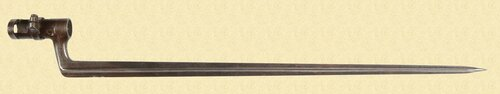 SWEDISH 1867 ROLLING BLOCK BAYONET - C26877