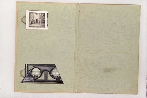 GERMAN WWII STEREO CARD BOOK - M1485
