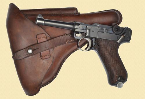 DWM P.08 1921 POLICE LUGER - Z35334