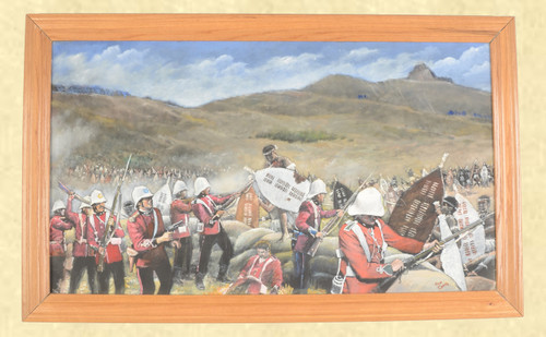 RONALD R CRAIG RORKES DRIFT PAINTING - C42539