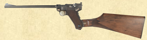DWM 1900 LUGER CARBINE - Z40937