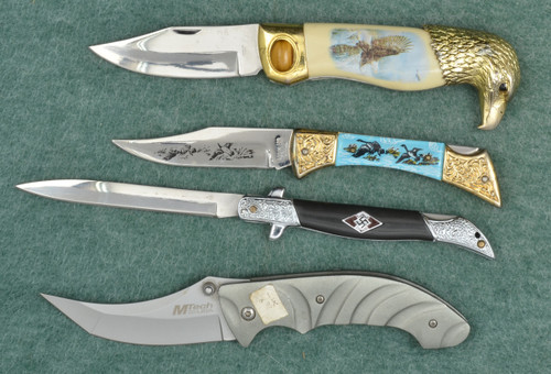 MTEC KNIFE LOT OF 4 - M7470