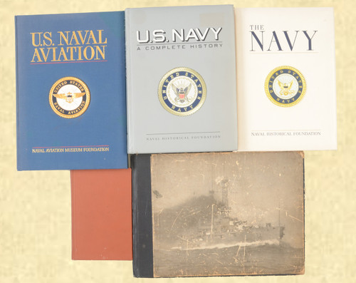 MILITARY BOOKS LOT OF 5 - C42585
