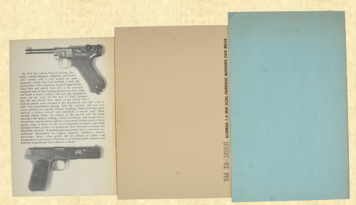 BOOK SET GERMAN  PISTOL IDENTIFICATION ETC - C42903