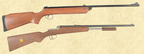 BSA METEOR LOT OF 2 AIR RIFLES - C43272