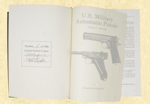 U S MILITARY PISTOLS 1894 - 1920 DELUXE VOL 1 - C43631