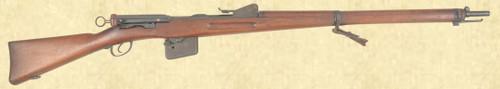 SWISS MODEL 1889 INFANTRY RIFLE - Z40738