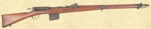 SWISS MODEL 1889 INFANTRY RIFLE - Z40740