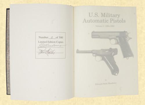 U S MILITARY PISTOLS 1894 - 1920 DELUXE VOL 1 - C43640