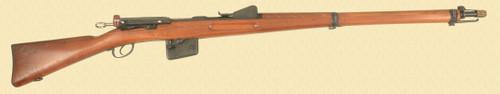 SWISS MODEL 1889 INFANTRY RIFLE - Z41491