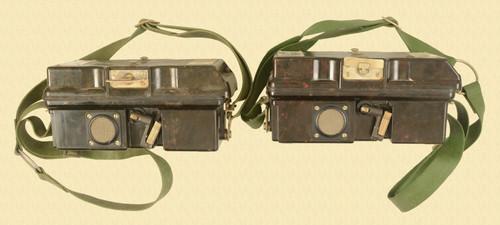 GERMAN FF-63 FIELD TELEPHONE SET LOT OF 2 - M7549